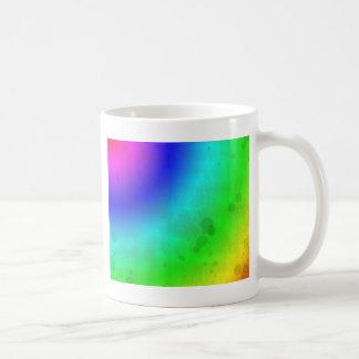 Water Stained Rainbow Coffee Mug