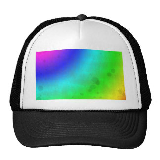 Water Stained Rainbow Trucker Hat