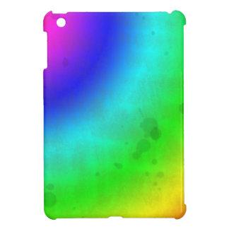 Water Stained Rainbow iPad Mini Case