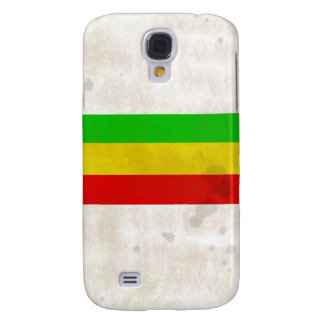 Water Stained Rasta Stripes Galaxy S4 Cover