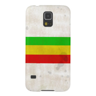 Water Stained Rasta Stripes Galaxy S5 Cover