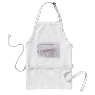Water Stones Adult Apron
