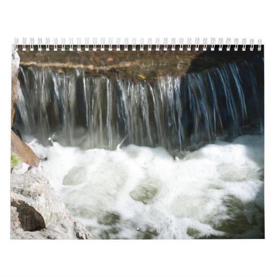 Water Stream calendar