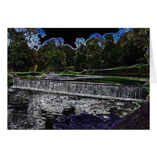 Water Stream Card