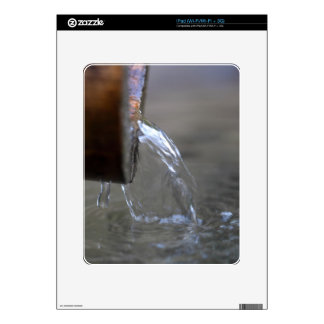 Water stream on  a well skin for iPad