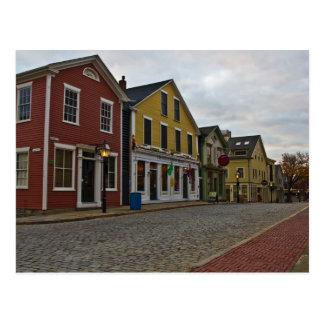 Water Street New Bedford Postcard