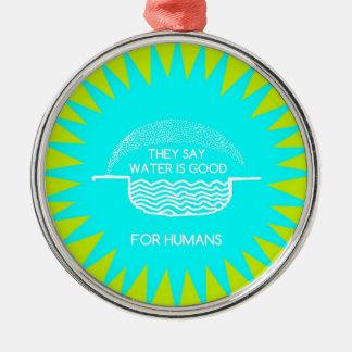 WATER SUITES METAL ORNAMENT