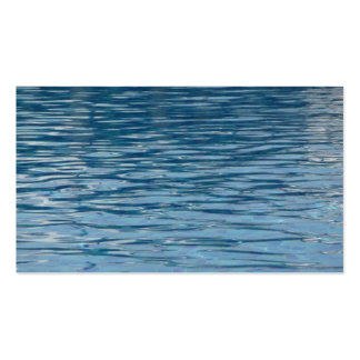 Water surface Double-Sided standard business cards (Pack of 100)