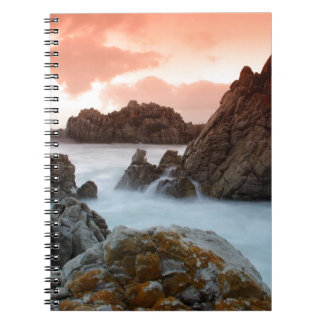 Water Surreal Sundown South Africa Note Books