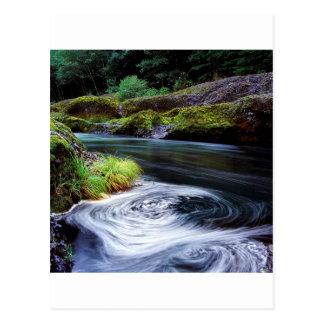 Water Swirling Eddy Clackamas River Oregon Post Cards