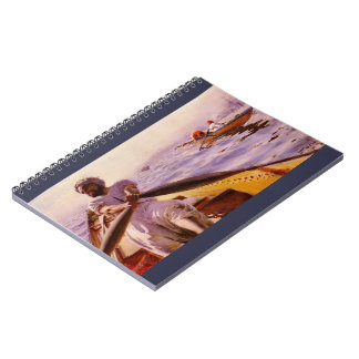 Water Taxi 1886 Notebook