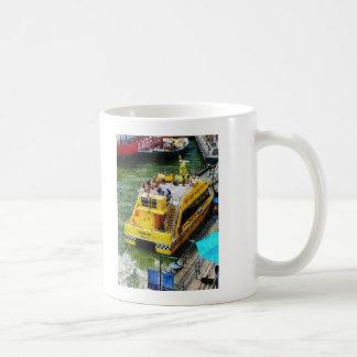 Water Taxi at South Street Seaport NY Coffee Mug