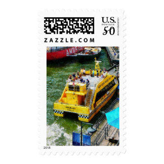 Water Taxi at South Street Seaport NY Postage