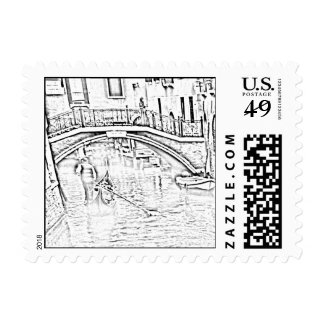 Water-Taxi Stamp