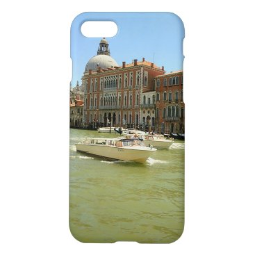 Beach Themed Water Taxis Grand Canal iPhone Case