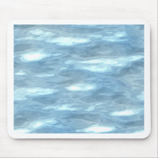 Water texture mouse pad