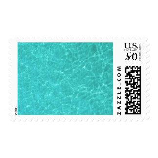 Water Texture Postage