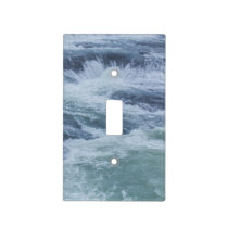 Water Textures Light Switch Cover