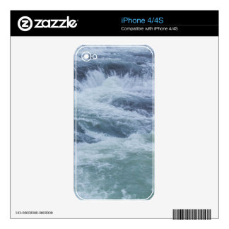 Water Textures Skin For The iPhone 4