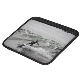 Water Themed, A Black And White Picture Of A Man S Sleeves For iPads
