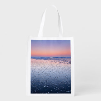 Water Themed Reusable Grocery Bag