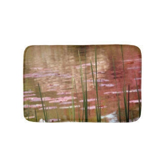 Water Through Reeds Bathmat