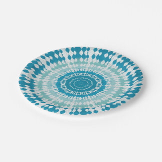 Water Tie Dye Paper Plate  sc 1 st  Zazzle & Dyeing Plates | Zazzle