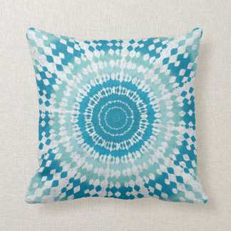 Water Tie Dye Throw Pillow