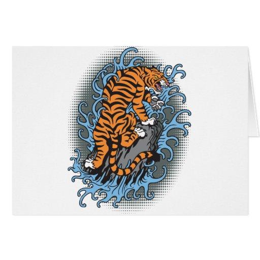 Water Tiger Card