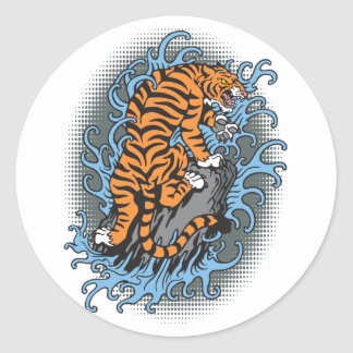 Water Tiger Stickers