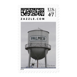 Water Tower 02 Postage Stamp