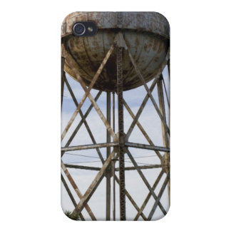 Water Tower at Alcatraz iPhone 4 Cases