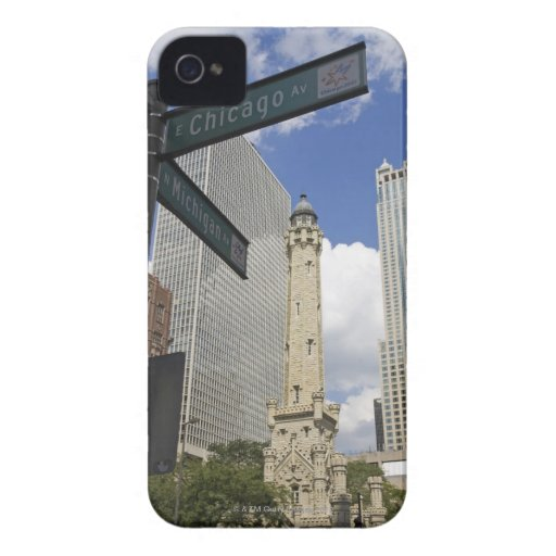 Water Tower, Chicago, Illinois, USA iPhone 4 Case-Mate Case