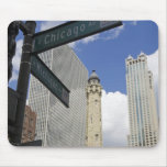 Water Tower, Chicago, Illinois, USA Mouse Pad