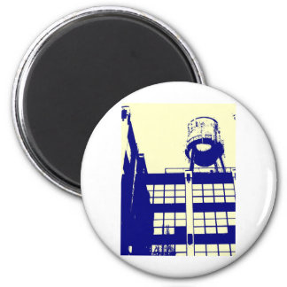 Water tower 2 inch round magnet