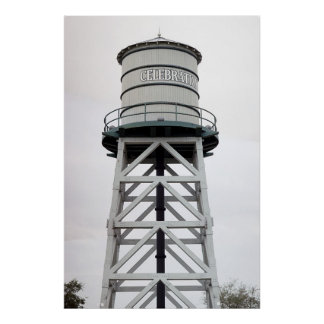 Water Tower No. 1 Poster
