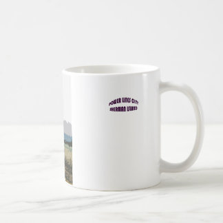 Water Tower on Sherman Island Coffee Mug
