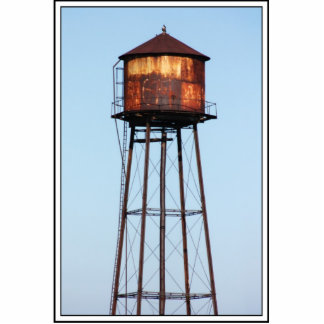 Water Tower Standing Photo Sculpture