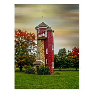 Water Tower Postcard