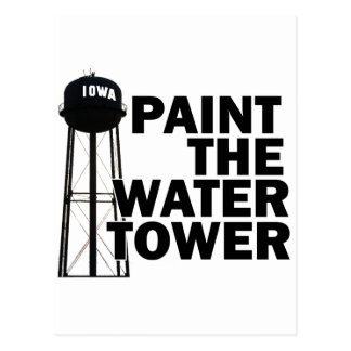 Water Tower Postcard