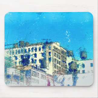 Water Towers, New York City Mouse Pad
