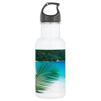 Water Tropical Retreat Seychelles Water Bottle
