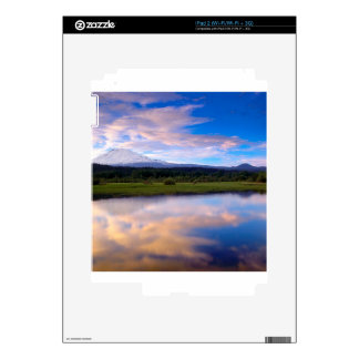 Water Trout Lake Creek Mount Adams Decal For iPad 2