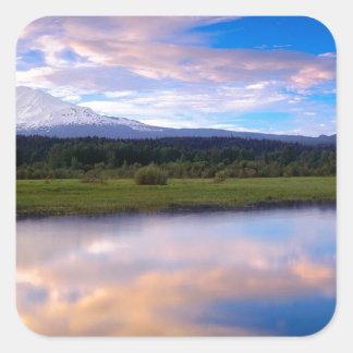 Water Trout Lake Creek Mount Adams Stickers