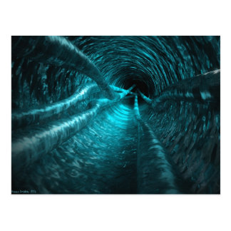 Water Tunnel Postcard