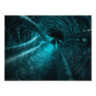 Water Tunnel Poster