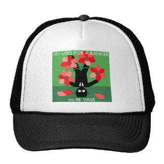 water twice a day... then occupy wall street trucker hat