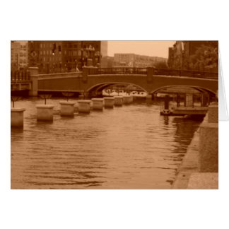Water Under the Bridge Card