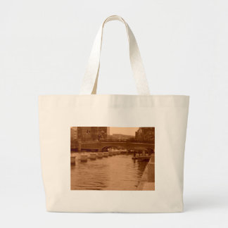 Water Under the Bridge Jumbo Tote Bag