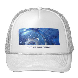 water universe trucker hat